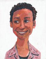 黒人女性のイラスト 02112010232| 写真素材・ストックフォト・画像・イラスト素材|アマナイメージズ