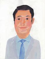 ネクタイをした日本人ビジネスマン