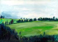 ヨーロッパの田園風景