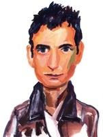 茶色のシャツを着た男性 02112010330| 写真素材・ストックフォト・画像・イラスト素材|アマナイメージズ