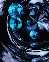 地球イメージ  CG