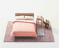ミニチュアのベッドルーム 02119010048| 写真素材・ストックフォト・画像・イラスト素材|アマナイメージズ
