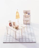 ミニチュアのキッチン