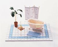 ミニチュアのバスルーム