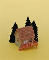 フェルト製の山小屋