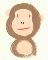 猿 イラスト