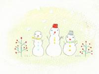 雪だるま イラスト