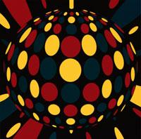 ミラーボール イラスト 02128010019| 写真素材・ストックフォト・画像・イラスト素材|アマナイメージズ