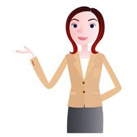 女性のナビゲーター 02130010019| 写真素材・ストックフォト・画像・イラスト素材|アマナイメージズ