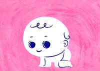 赤ちゃんがハイハイ 02130010049| 写真素材・ストックフォト・画像・イラスト素材|アマナイメージズ