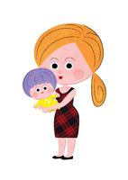 ママが赤ちゃんを抱っこする 02130010050| 写真素材・ストックフォト・画像・イラスト素材|アマナイメージズ
