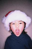 日本人の男の子のクリスマス