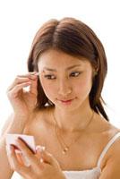 女性 メイクイメージ 02155010506A| 写真素材・ストックフォト・画像・イラスト素材|アマナイメージズ