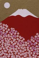 富士と桜 02168010032| 写真素材・ストックフォト・画像・イラスト素材|アマナイメージズ