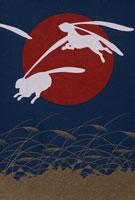 月と兎 02168010038| 写真素材・ストックフォト・画像・イラスト素材|アマナイメージズ