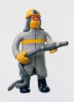 フィギア 消防士