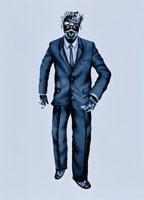 ロボットのビジネスマン イラスト