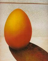 卵(オレンジ色) フォトイラスト
