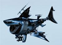 メカ生物  サメ 02178010003| 写真素材・ストックフォト・画像・イラスト素材|アマナイメージズ