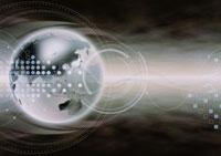 地球儀のビジネスイメージ CG