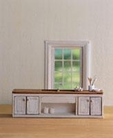 窓とキッチン ミニチュアクラフト
