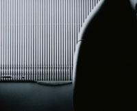 窓のブラインド B/W