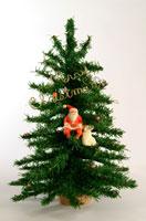 クリスマスイメージ(ツリー・サンタクロース) クラフト