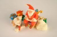 サンタクロースの人形 クラフト