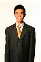 笑う日本人ビジネスマン