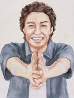 日本人男性 イラスト 02209000020| 写真素材・ストックフォト・画像・イラスト素材|アマナイメージズ