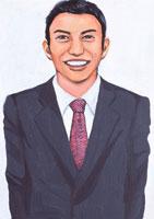 日本人ビジネスマン イラスト 02209000041| 写真素材・ストックフォト・画像・イラスト素材|アマナイメージズ