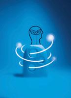 人と光のオブジェ 02221000075| 写真素材・ストックフォト・画像・イラスト素材|アマナイメージズ