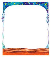 星空のフレーム 02221000088| 写真素材・ストックフォト・画像・イラスト素材|アマナイメージズ