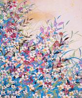 白い花 赤い花 草2