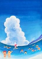 入道雲 02237003863| 写真素材・ストックフォト・画像・イラスト素材|アマナイメージズ