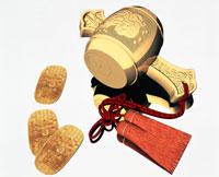 CGの打ち出の小槌と小判 02237004551| 写真素材・ストックフォト・画像・イラスト素材|アマナイメージズ