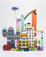 都会のマンション 02237004706| 写真素材・ストックフォト・画像・イラスト素材|アマナイメージズ