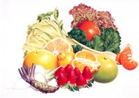 春の野菜果物