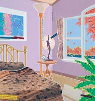 秋のベッドルーム 02237005254| 写真素材・ストックフォト・画像・イラスト素材|アマナイメージズ