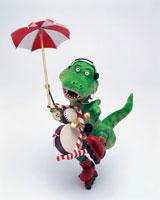 立体 ちんどん恐竜A 3
