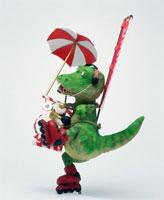 立体 のぼりちんどん恐竜A 8