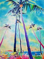 ハワイのカマオレ・ビーチ