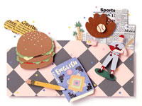 ハンバーガーと本と野球