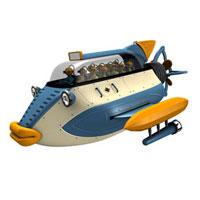 送迎潜水艇で遠足