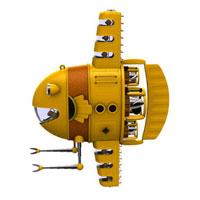 黄色いマンボウ潜水艇