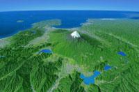 ジオアート 富士山