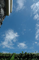 バリ島の空