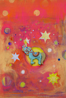 ポニーと星 02240000138| 写真素材・ストックフォト・画像・イラスト素材|アマナイメージズ