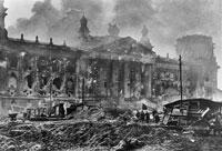 第二次世界大戦のソビエトの侵攻  ドイツ 1945