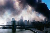 テロの黒煙 2001年9月11日 アメリカ 02265005704| 写真素材・ストックフォト・画像・イラスト素材|アマナイメージズ